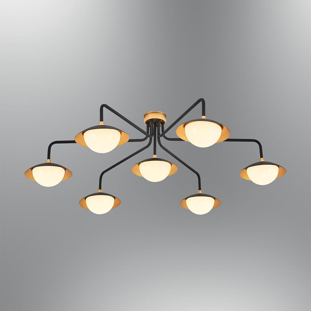 augusta 7 LED ceiling luminaire