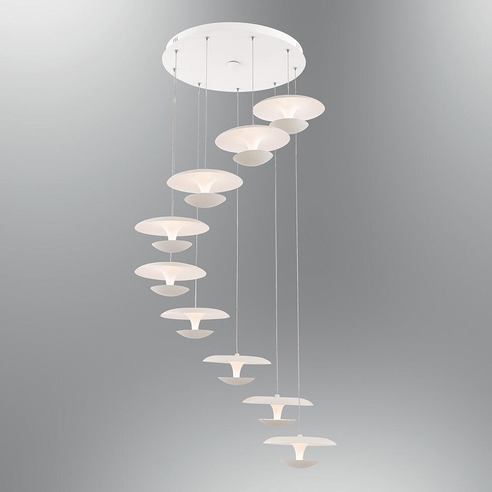 linterna 9 LED pendant luminaire
