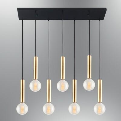 cony seven on linear base pendant luminaire included led filament bulb Ø95 2700K 8W