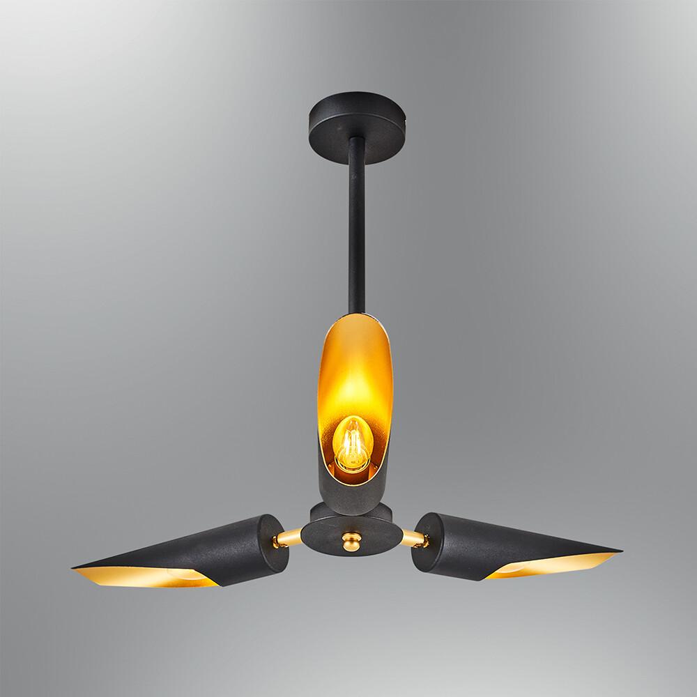 torcia ceiling luminaire 3xE14 lights