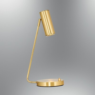 kiara doce table lamp antique brass