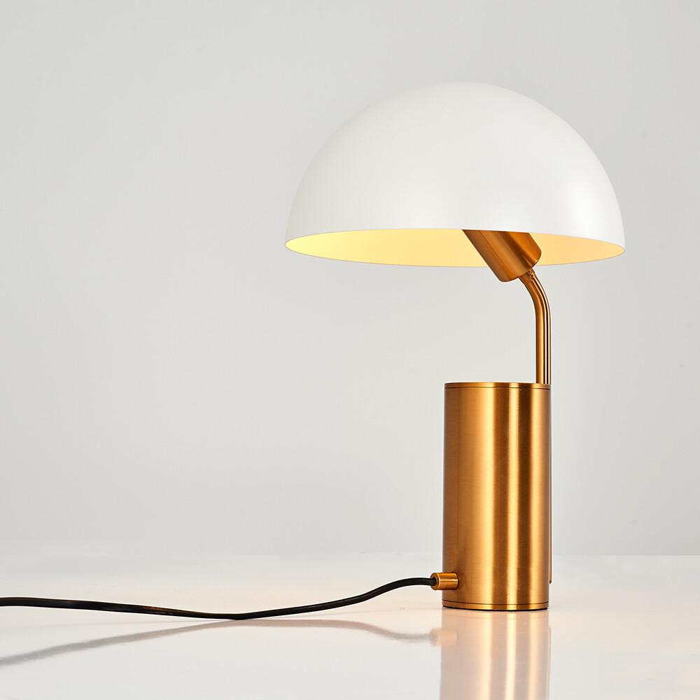 kiara otto table lamp rosegold
