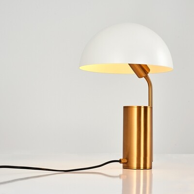 kiara otto table lamp rosegold