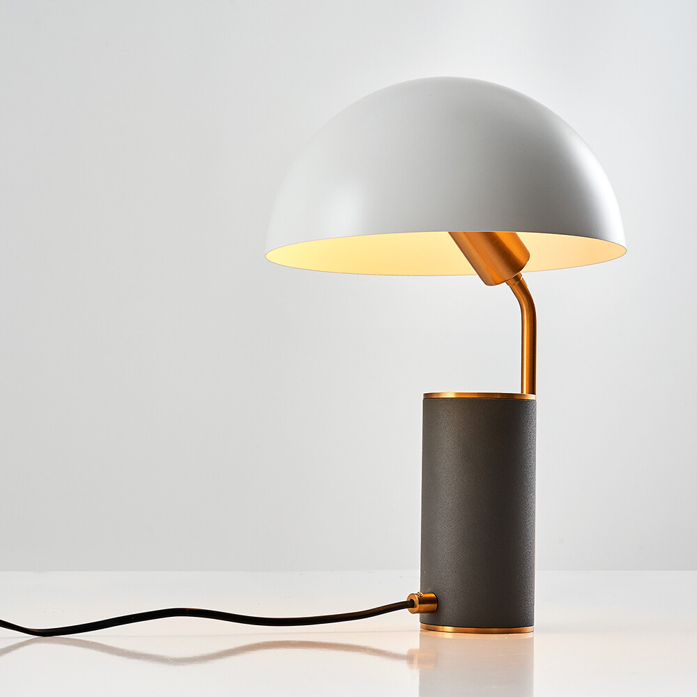kiara otto table lamp grey