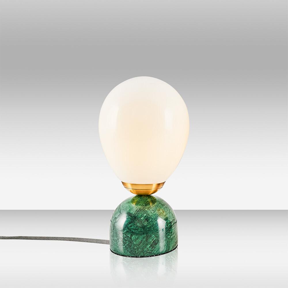 kiara cinco marble table lamp verde