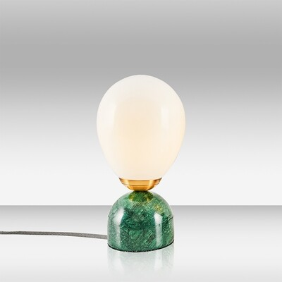 kiara cinco marble table lamp verde