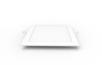 Intego Recessed Ecovision, 225x225mm, Square, 18W LED
