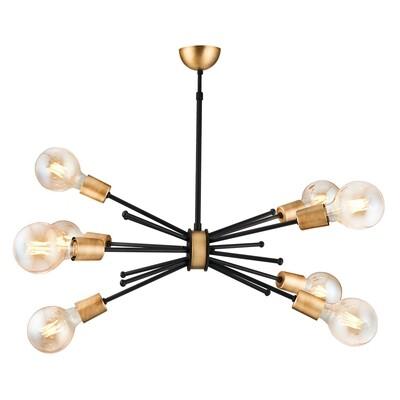 dandelia E27 8 light chandelier