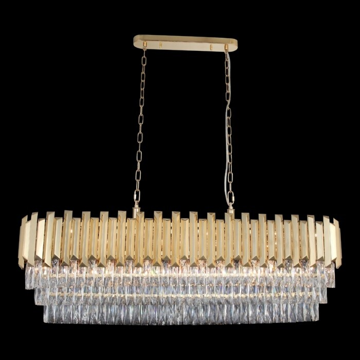 NARBONNE 110x30 20 LIGHT CHANDELIER GOLD COLOR 20xE14