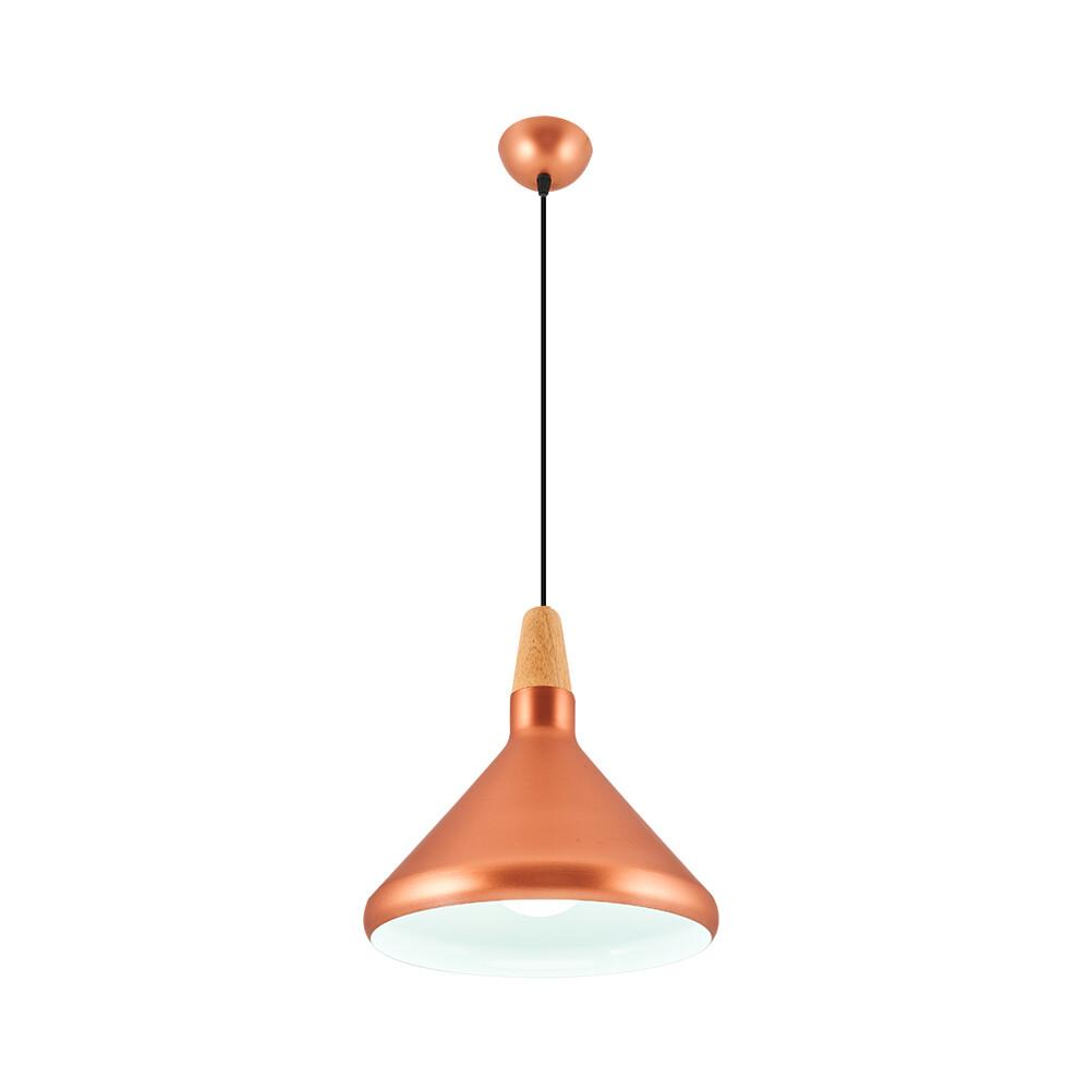 bruno ceiling lamp 1xE27 Rose Gold