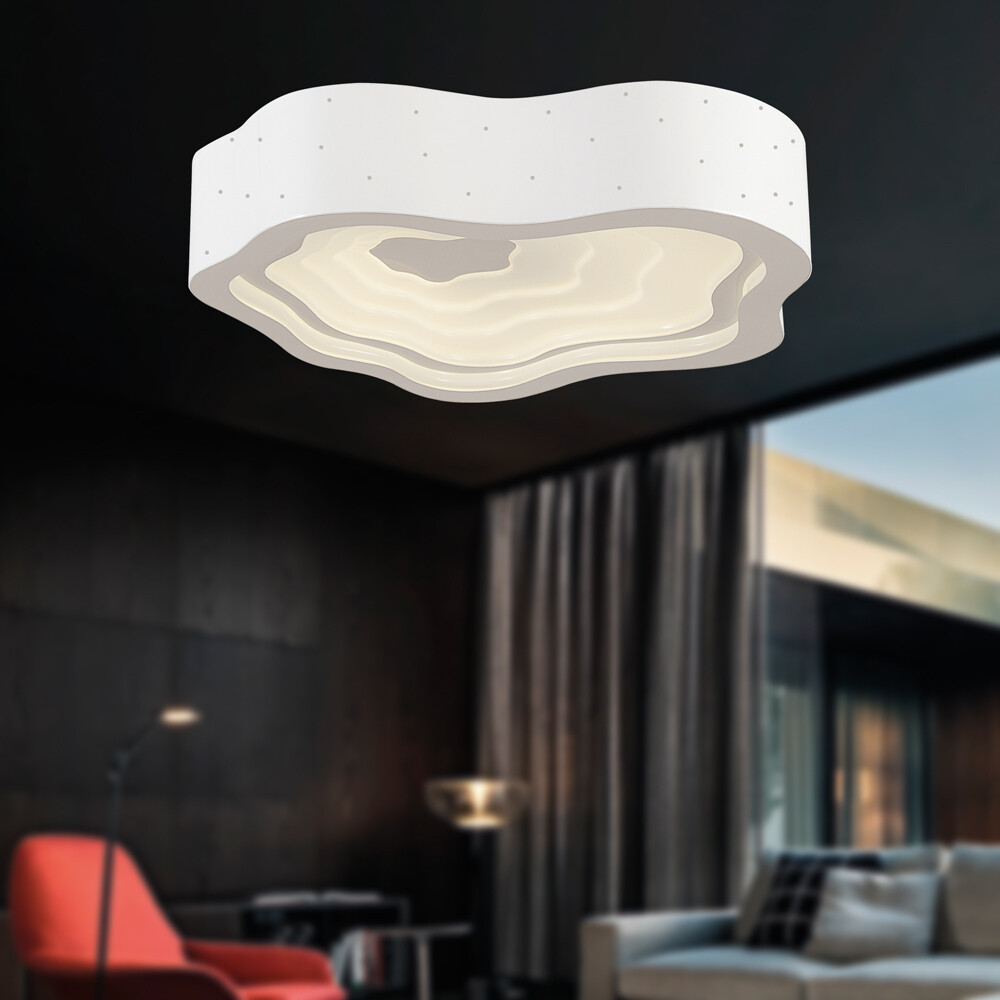welle LED ceiling light 34W 3570lm 4000K white