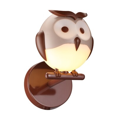 OWL children wall lamp G9 6W LED