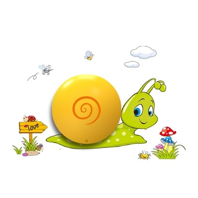 SNAIL children night wall light 0.6W LED (3xAAA battery operated)