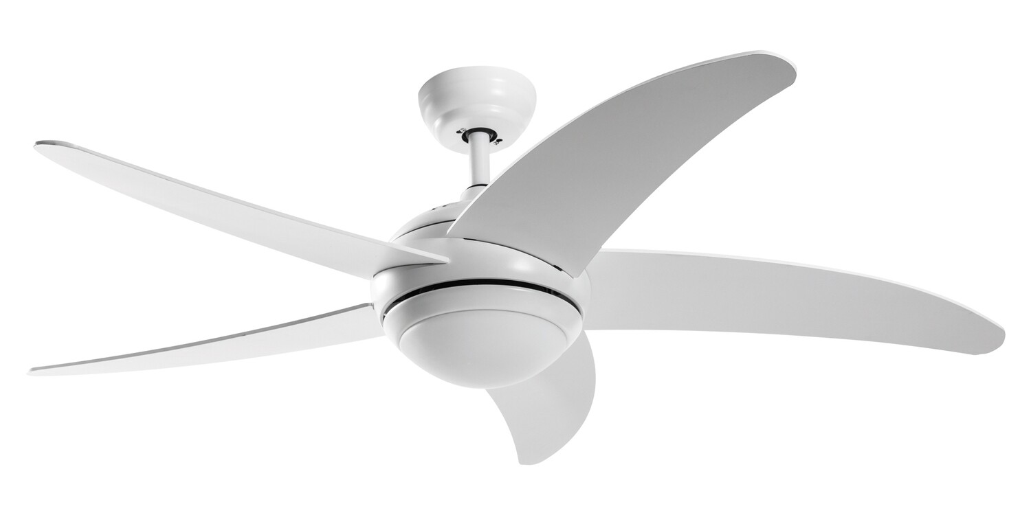 GRECALE ceiling fan by ROSSINI Ø132 light integrated and remote control included