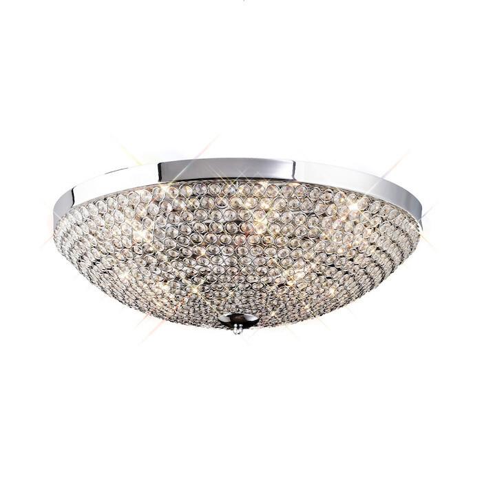 Ava Ceiling 6 Light G9 Crystal