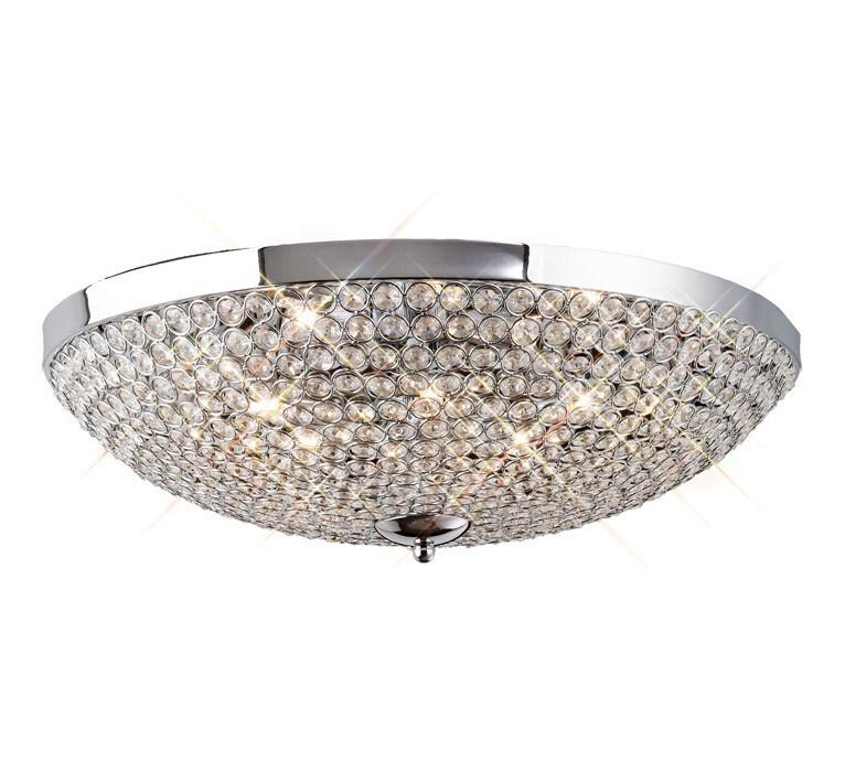 Ava Ceiling 9 Light G9 Crystal