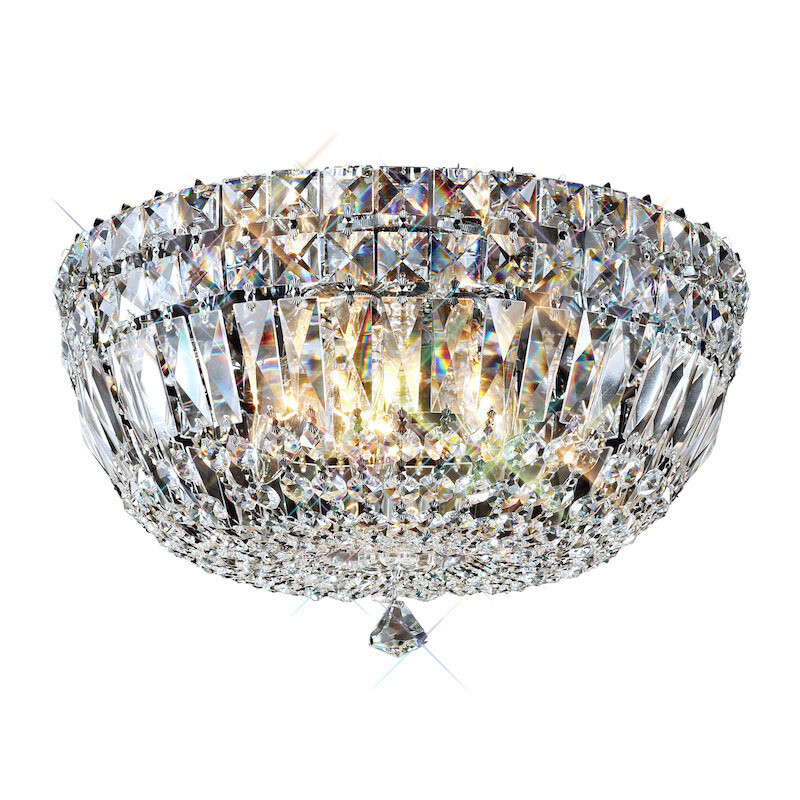 Georgina Ceiling 3 Light G9 Polished Chrome/Crystal