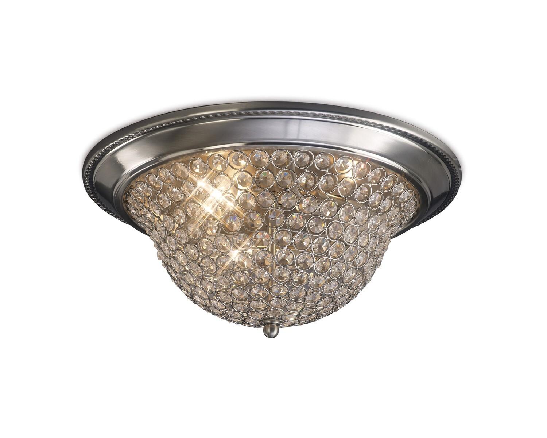 Paloma Ceiling Large 3 Light E14 Crystal