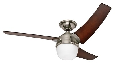 HUNTER EURUS ceiling fan Ø137 with Light Kit and Wall Control included