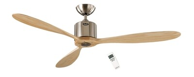 AEROPLAN ECO BN-NT energy saving ceiling fan by CASAFAN Ø132 with remote control included
