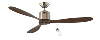 AEROPLAN ECO BN-NB energy saving ceiling fan by CASAFAN Ø132 with remote control included