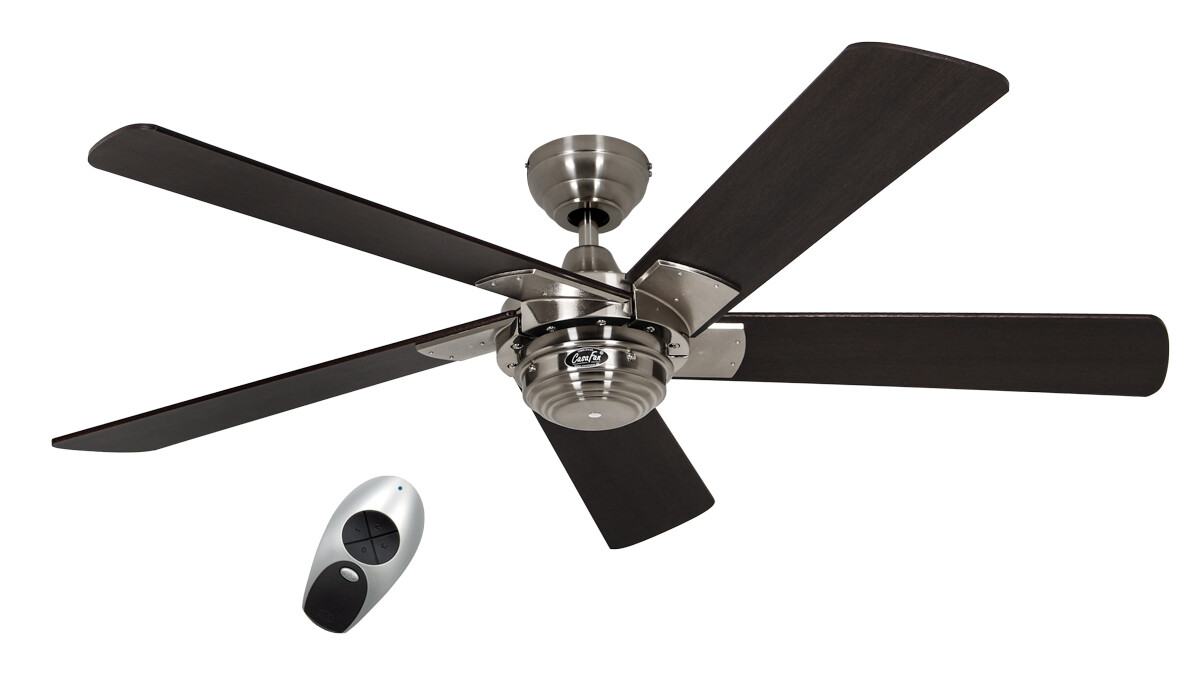 ROTARY ceiling fan BY CASAFAN Ø132 5 blades with remote control