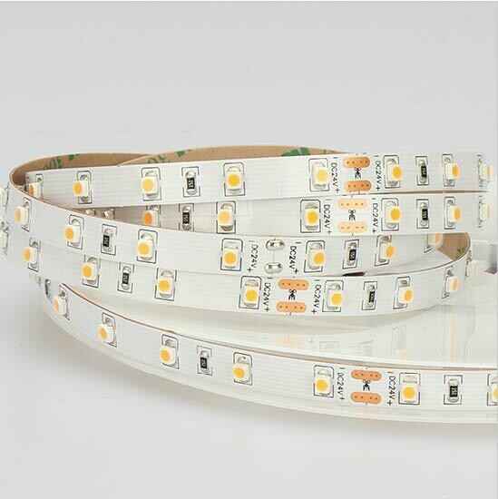 LED strip light 24V 4.8W/m 60 LED's/m IP20 by koch licht (Austria)