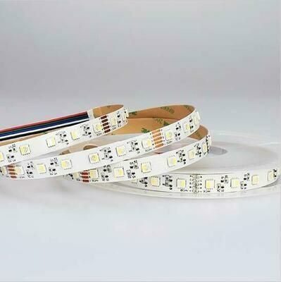 LED strip light RGBW 24V 11W/m 60 LED's/m IP20 by koch licht (Austria)