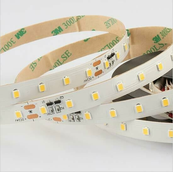 LED strip light 24V Contant current 12W/m 80 LED's/m IP20 by koch licht (Austria)
