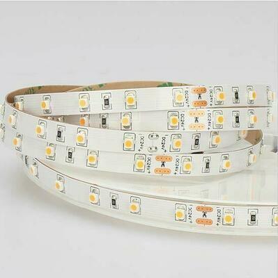 LED strip light 24V 4.8W/m 60 LED's/m IP65 by koch licht (Austria)
