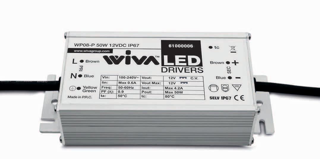 WIVA WP08-P 50W 24VDC IP67
