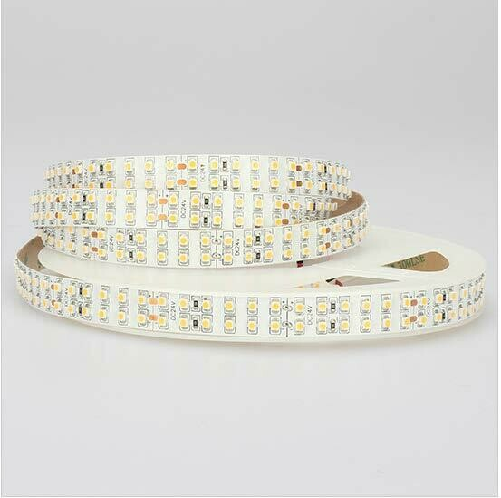 LED strip light 24V 19.2W/m 240 LED's/m IP65 by koch licht (Austria)