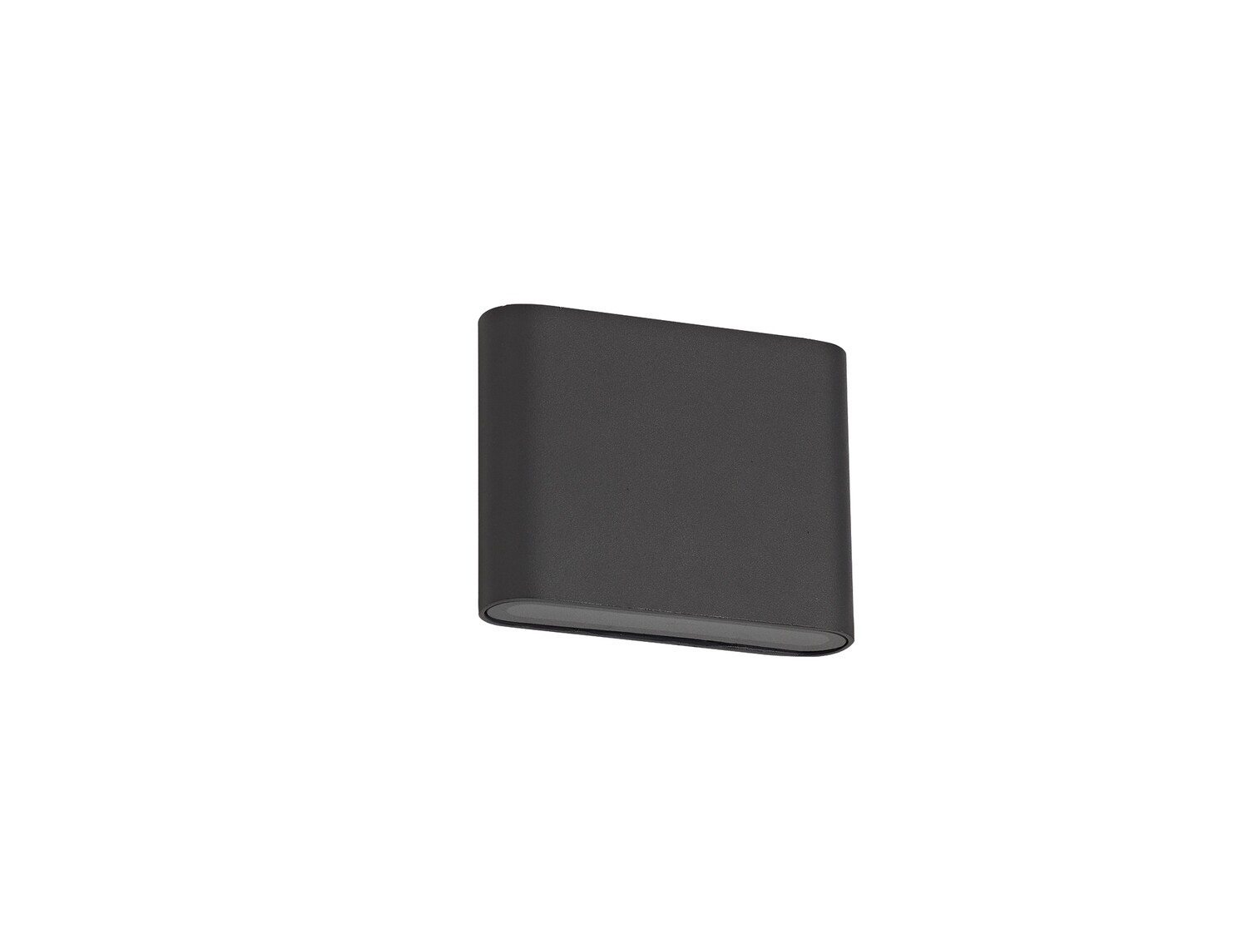 Contour Small Up &  Down Wall Light LED 2x3W 350lm 3000K IP54 Anthracite