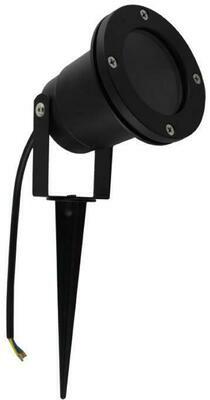 LISO GU10 Spike Light IP65 Black