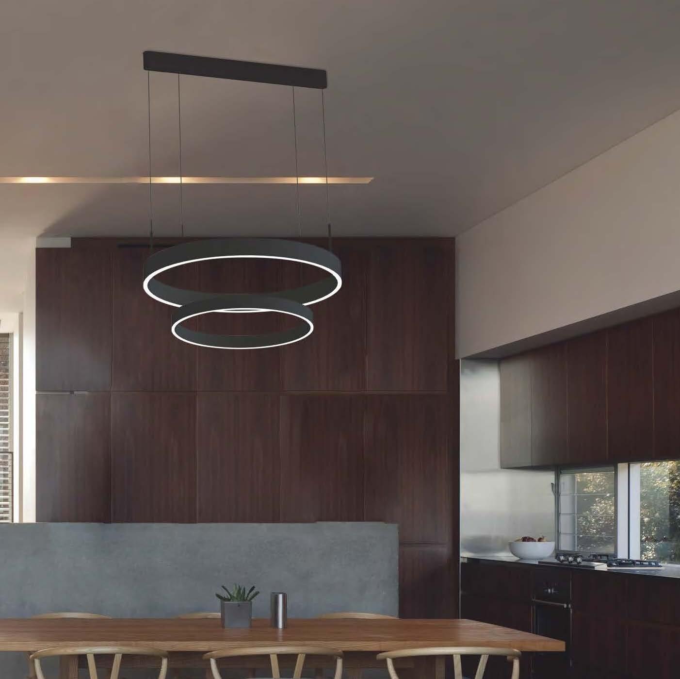 LOOp X2L circular pendant light  LED