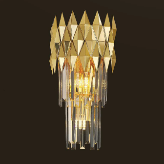 LEANNA 4 LIGHT WALL LAMP GOLD COLOR 4xE14