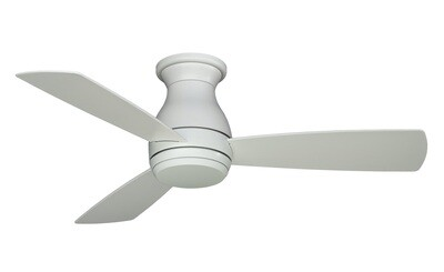 Indoor/Outdoor Ceiling fan HUGH WET MW Ø112 light integrated wall control included