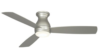 Indoor/Outdoor Ceiling fan HUGH WET BN Ø132 light integrated wall control included