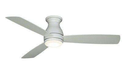 Indoor/Outdoor Ceiling fan HUGH WET MW Ø132 light integrated wall control included