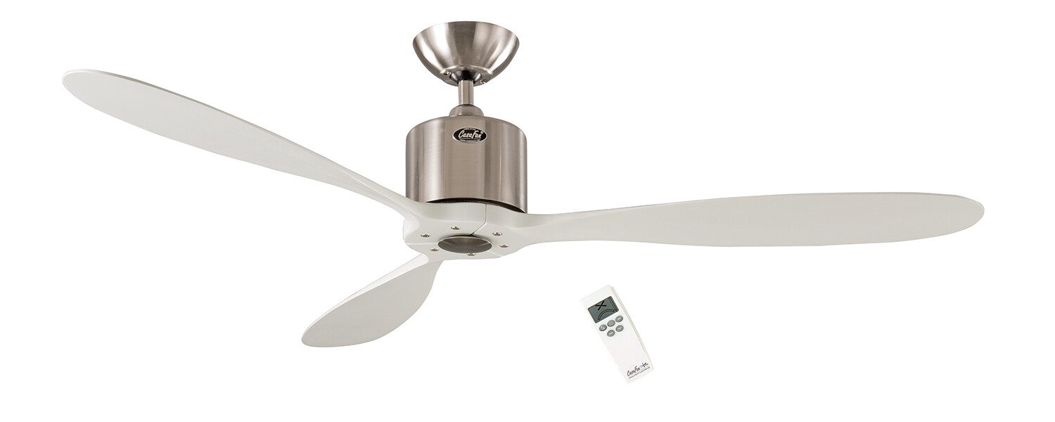 AEROPLAN ECO BN-WE energy saving ceiling fan by CASAFAN Ø132 with remote control included