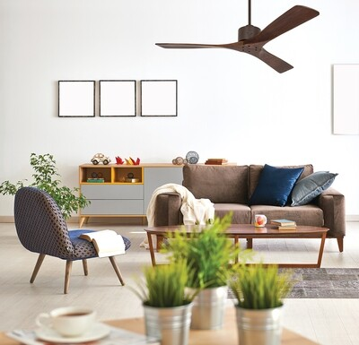 MACAU ORB-NB ceiling fan by CASAFAN Ø132cm with remote control included