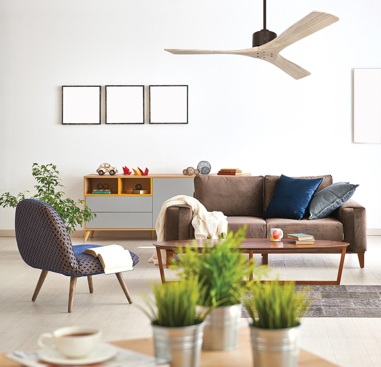 MACAU ORB-NT ceiling fan by CASAFAN Ø132cm with remote control included