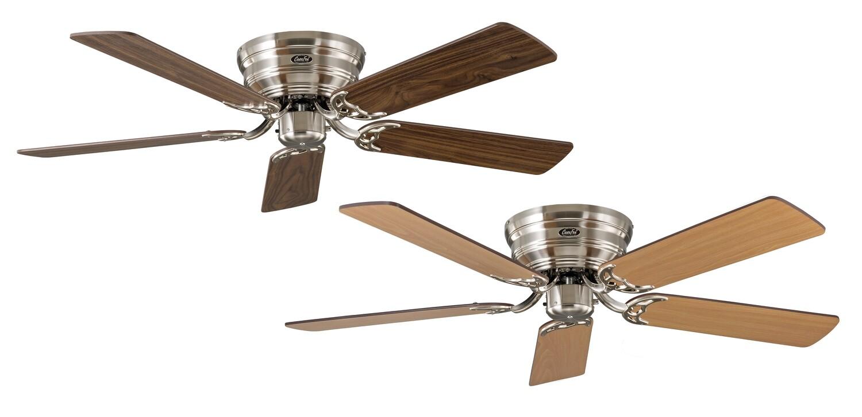 Classic Flat 132-III BN ceiling fan by CASAFAN Ø132 with Pull Chain