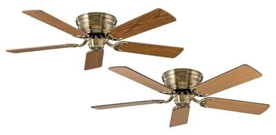 Classic Flat 132-III MA ceiling fan by CASAFAN Ø132 with Pull Chain