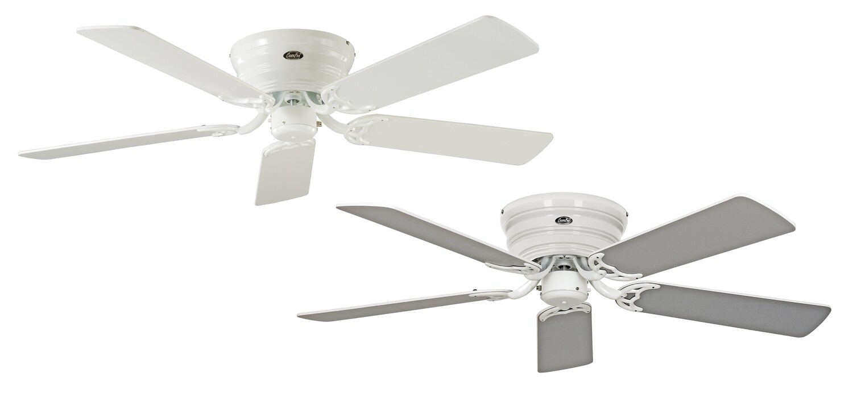 Classic Flat 132-III WE ceiling fan by CASAFAN Ø132 with Pull Chain