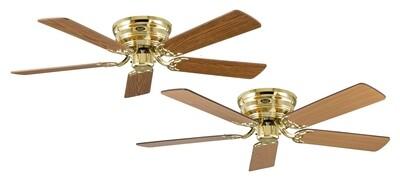 Classic Flat 132-III MP ceiling fan by CASAFAN Ø132 with Pull Chain