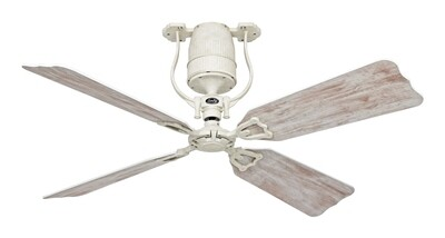 ROADHOUSE ECO shabby white ceiling fan by CASAFAN Ø132 with remote control included