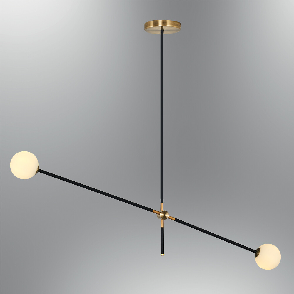 kosmosoderso II ceiling luminaire 2xG9