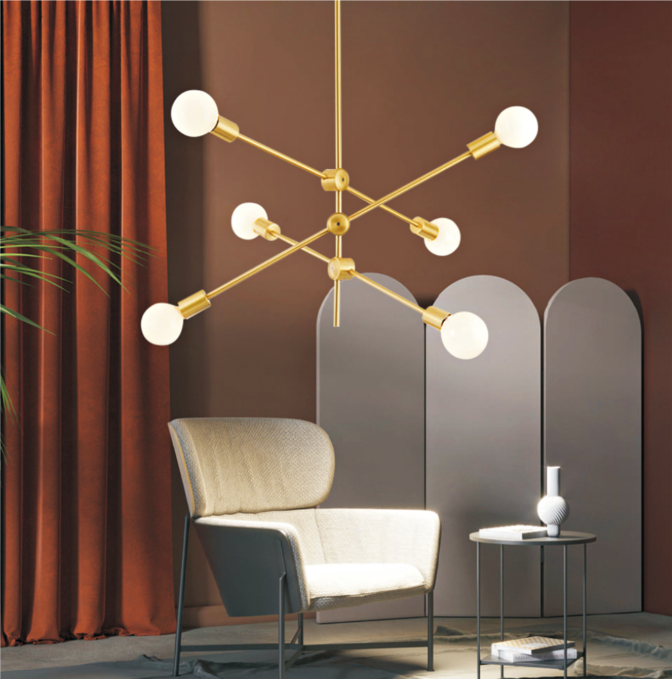 kosmosoro VI ceiling luminaire 6xE27 (lamp included)