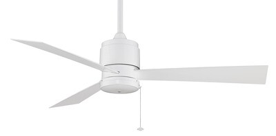 Indoor/Outdoor Ceiling fan Zonix WH Wet Ø132 with Pull Chain